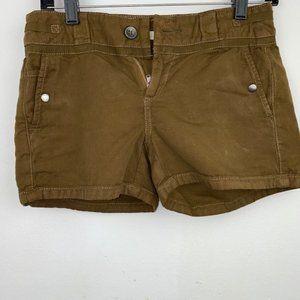 Anthropologie Hei Hei Brown Shorts, Size 0
